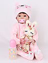 NPK DOLL Reborn-dockor Reborn Toddler Doll Babyflickor 22 tum Säkerhet Gåva Utbilding Unge Unisex Leksaker Present