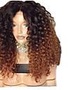Syntetiska peruker Afro Kinky Frisyr i lager Peruk Guld Medium längd Svart och guld Syntetiskt hår 48~52 tum Dam Ny ankomst Guld