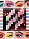 smakup 10 färger dubbla ändar flytande ögonskugga matt glitter enda ögonskugga vattentät ansikts smink skönhet kosmetika tslm1