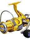 Fiskerullar Snurrande hjul / Sea Fishing Reel 5.2:1 Växlingsförhållande+14 Kullager Hand Orientering utbytbar Sjöfiske / Spinnfiske / Karpfiske