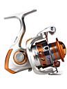 Fiskerullar Snurrande hjul 4.1/1 Växlingsförhållande+11 Kullager Hand Orientering utbytbar Kastfiske