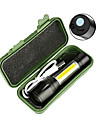 LED-Ficklampor Ficklampor Ficklampa Kropp 2300 lm LED utsläpps 4.0 Belysning läge med batteri och USB-kabel Bärbar Vindtät Häftig Enkel att bära Slitsäker Camping / Vandring / Grottkrypning Dykning