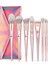 Professionell Makeupborstar 10pcs Mjuk Ny Design Förtjusande Aluminium Alloy 7005 för Sminkborste