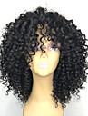 Syntetiska peruker Afro Kinky Frisyr i lager Peruk Medium längd Svart Syntetiskt hår 26~30 tum Dam Ny ankomst Svart