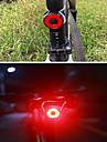 LED Cykellyktor Bromsljus Baklykta till cykel säkerhetslampor - Bergscykling Cykel Cykelsport Vattentät Flera lägen Smart induktion Jätteljus Li-jon 40 lm Inbyggd Li-batteridriven Röd / ABS