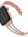 nový dámský diamantový pásek na hodinky Apple 40mm / 44mm / 38mm / 42mm iwatch série 4 3 2 1 z nerezové oceli popruh sportovní náramek