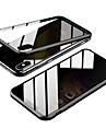 caixa magnetica dupla face anti-peep para apple iphone xs / iphone xr / xs max / 7 8plus / 7 8 / 6splus / 6s / 6 caixas transparentes / magneticas de corpo inteiro vidro anti-peeping temperado de cor