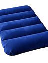 Camping Resekudde Kudde Utomhus Camping Uppblåsbar Ultra Lätt (UL) Kompakt Plysch 46*30*10 cm för Camping Utomhus Resor Höst Vår Sommar Mörkblå