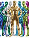 Skinande Zentai Dräkter Kattdräkt Huddräkt Ninja Vuxna Spandex Latex Cosplay-kostymer Kön Herr Dam Svart / Purpur / Rodnande Rosa Enfärgad Halloween / Hög Elasisitet