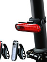 LED Cykellyktor Baklykta till cykel säkerhetslampor LED Bergscykling Cykel Cykelsport Vattentät Flera lägen Jätteljus Bärbar Li-jon * Laddningsbart USB Vit Röd Cykling / Quick Release