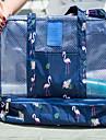 Enkel / Moderiktig design / Lätt att bära Smink 1 pcs Polyester Kvadrat Allmänt bruk Bärbar / Universell Dagliga kläder / Helgdag Stor kapacitet Packpåsar Ledigt / vardag Kosmetisk Skötselprodukter