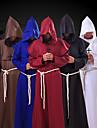 Pastor Cosplay Kostymer / Dräkter Maskerad Vuxna Herr Cosplay Halloween Halloween Festival / högtid Polyster Svart / Vit / Blå Herr Dam Karnival Kostymer
