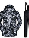 ARCTIC QUEEN Herr Skidjacka och -byxor Vattentät Vindtät Varm Camping Vintersport Polyester Jacka Byxa Träningsdräkter Skidkläder