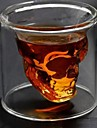 Halloween Props transparent kropp skalle skelett Glas Nutida 2 pcs Vuxna Alla Leksaker Present