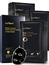 lamiljavatten smyckar öm svart mask bambukol ren det fuktgivande fuktgivande ansiktsmask ansiktsmassage 10st / låda