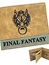 Väska / Plånböcker Inspirerad av Final Fantasy Cosplay Animé/ Videospel Cosplay Accessoarer Plånbok Gul Lackläder / PU Läder Man / Kvinna