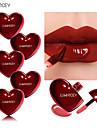 märke luwhicey hjärtformad läppvätska fuktgivande färg läppglans läppglasyr läppstift långvarig läppsmakeup