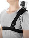 Bröstbälte Klistrig Stretch Mobiltelefon För Actionkamera Resa Skjutning Bergsklättring ABS + PC