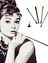 Audrey Hepburn The Great Gatsby Dekorativ Den store Gatsby Halloween Konstgjord korall Till Maskerad Festival Halloween Dam Kostymsmycken / Cigarettsticka / Ram / Cigarettsticka