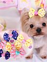 lureme vågen pekar hårnål för husdjur hundar (slumpvis färg)