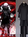 Inspirerad av Tokyo Ghoul Cosplay Animé Cosplay-kostymer Japanska cosplay Suits Kappa / Topp / Byxor Till Herr / Shorts
