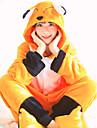Vuxna Kigurumi-pyjamas Räv Onesie-pyjamas Flanell Orange Cosplay För Herr och Dam Pyjamas med djur Tecknad serie Festival / högtid Kostymer