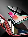 estojo magnetico de dupla face para apple iphone xs / iphone xr / iphone xs max / 7 8plus / 7 8 / 6splus / 6s / 6 estojos transparentes / magneticos de corpo inteiro vidro anti-peeping temperado de co