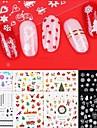 1 pcs Vattenövergångsklistermärke / Nail Sticker Nail Decals Klistermärken