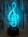 Note 3D Colorful Visual Lights Colorful Touch 3D LED Lights