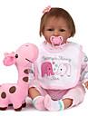 NPK DOLL Reborn-dockor Reborn Toddler Doll Babyflickor 22 tum Säkerhet Gåva Gulligt Unge Unisex Leksaker Present