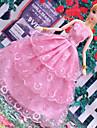Dollklänning Fest / afton 6 pcs För Barbie Polyester Klänning För Flicka Dockleksak
