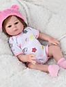 NPK DOLL Reborn-dockor Reborn Toddler Doll Babypojkar Babyflickor 22 tum Silikon - Säkerhet Gåva Gulligt Unge Unisex / Flickor Leksaker Present