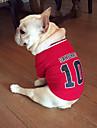 Hund T-shirt Hundkläder Kostym Terylen Cotton Cosplay XS S M L
