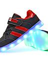 Pojkar / Flickor Lysande skor Syntet Sneakers Lilla barn (4-7år) / Stora barn (7 år +) LED Svart / Vit / Rosa Höst / Vinter