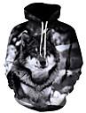 Men\'s Hoodie Print Hooded Basic Black US32 / UK32 / EU40 US34 / UK34 / EU42 US36 / UK36 / EU44 US38 / UK38 / EU46 US40 / UK40 / EU48 US42 / UK42 / EU50
