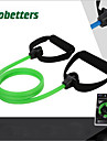 Träningsgummiband latex silke Stretch Liv Styrketräning Dra Motion & Fitness Gym träning För Unisex