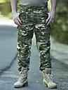 Herr Jaktbyxor med kamouflagemönster Håller värmen Vindtät Ventilerande Anti - Slit Vår Höst Vinter Kamouflage Byxa Underdelar för Camping Jakt Klättring Kamoflage S M L XL XXL