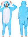 Vuxna Kigurumi-pyjamas Elefant Djurmönstrad Onesie-pyjamas Korallfleece Cosplay För Herr och Dam Pyjamas med djur Tecknad serie Festival / högtid Kostymer