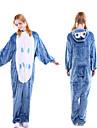 Vuxna Kigurumi-pyjamas Uggla Onesie-pyjamas Flanell Blå Cosplay För Herr och Dam Pyjamas med djur Tecknad serie Festival / högtid Kostymer