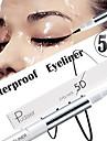 5d eyeliner vattentät uthållighet noll smuts fin mjuk eyeliner penna