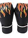 Boxningshandskar För Boxing Helt finger Skyddande PU Svart Röd Blå