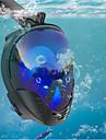 Dykmasker Under vattnet enda fönster - Dykning Silikon - Till Vuxen Svart