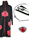 Inspirerad av Naruto Akatsuki / Itachi Uchiha Animé Cosplay-kostymer Japanska cosplay Suits / Mer accessoarer Anime Kappa / Dekorativa Halsband / Pannband Till Herr / Dam / Ring / Ring