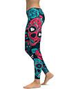 Dam Yoga byxor Mode Lycra Fitness Gym träning Leggings Underdelar Sportkläder Andningsfunktion Snabb tork Mjuk Elastisk Skinny / Sockerskalle