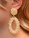 Women\'s Earrings Cameo Vertical / Gold bar Earrings Jewelry Rose Gold / Gold / Silver For Club