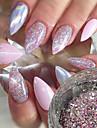1st Paljetter / Glitterpulver / Nail Glitter Elegant & Lyxig / Glitter och glans Nail Art Design