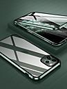 Capinha Para Apple iPhone 12 / iPhone 12 Mini / iPhone 12 Pro Max Antichoque / Transparente Capa Protecao Completa Transparente Vidro Temperado