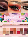 cmaadu 18 färger ögonmakeup palett matt skimmer som håller naturliga mode ögonskugga kosmetika med borste
