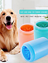 Dog Cat Pets Cleaning Fur Brush Plastic & Metal Brush Baths washable Pet Grooming Supplies Orange Green Blue