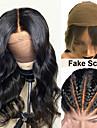 Äkta hår 13x6 Tillslutning Peruk stil Brasilianskt hår Kroppsvågor Naturlig Peruk 150% Hårtäthet Len Dam Bästa kvalitet Heta Försäljning Bekväm Dam Medium längd Äkta peruker med hätta